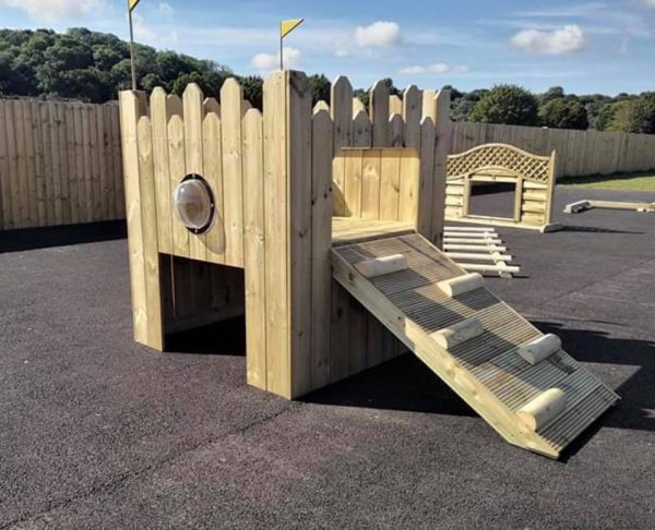 Wooden Role Play Castle For Children