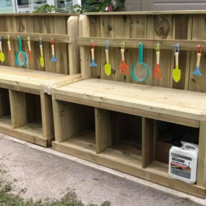 Wooden Little Potchers Builders Bench