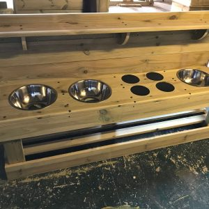 Wooden Maxi Mud Kitchen