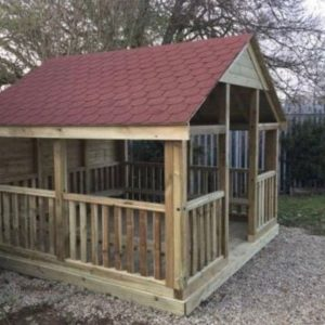 The Elm Tree Wooden Outdoor Classroom