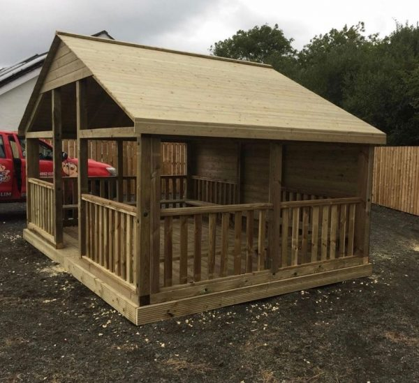 The Wooden Willow Tree Outdoor Classroom