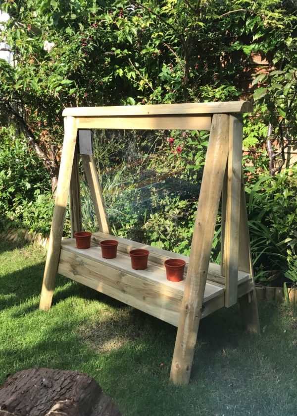 Wooden Acrylic Viewing Panting Easel