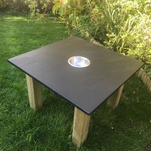 Chalkboard Table On Grass
