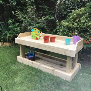 Children's Wooden Workbench