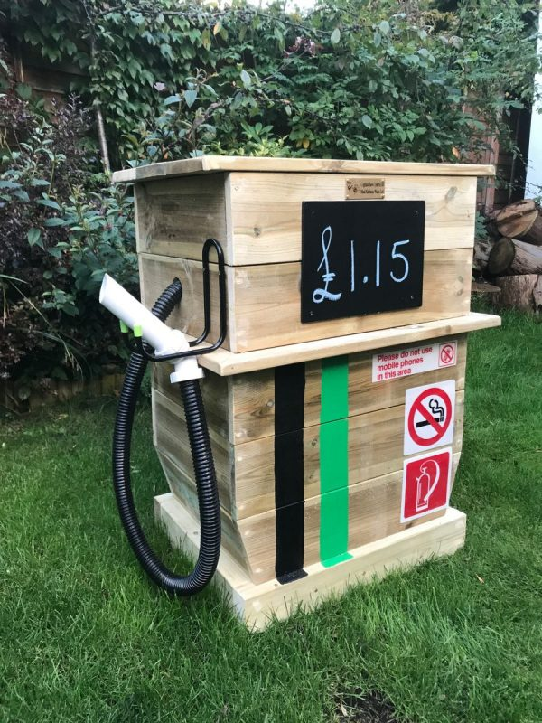 Wooden Gas And Water Pump