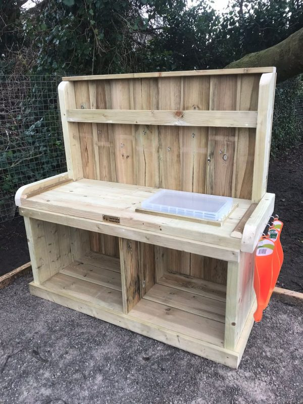 Little Potchers Work Bench with Storage Container