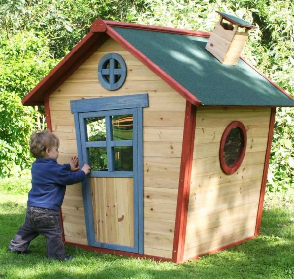 Colourful Wooden Playhouse For Kids