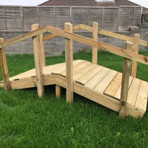 Wooden Bridge For Children
