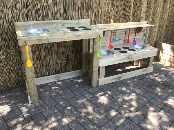 Wheelchair Accessible Mud Kitchen