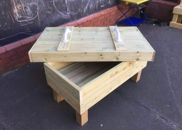 Wooden Table Storage