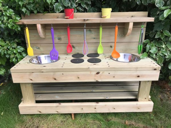 Deluxe Triple Trouble Mud Kitchen