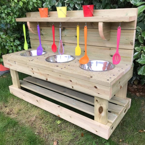 Wooden Deluxe Mud Multiplex With Tools