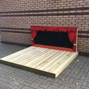 Wooden Stage For Children