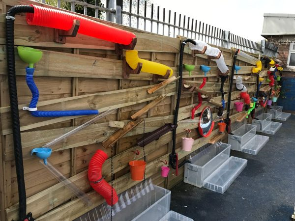 Wooden Play Wall For Kids