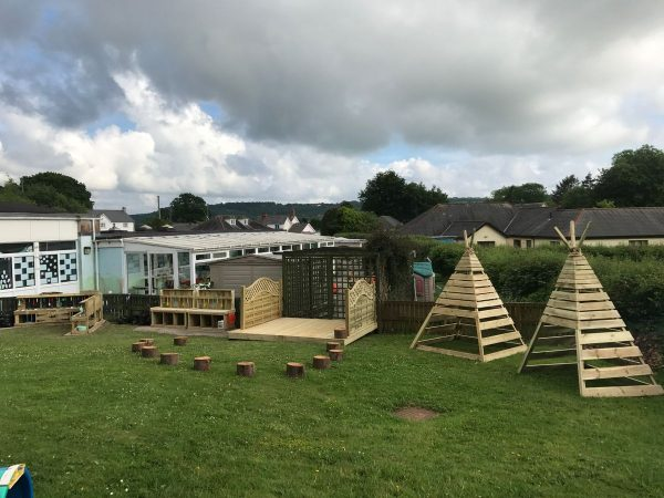 Outdoor Wooden Are For Children