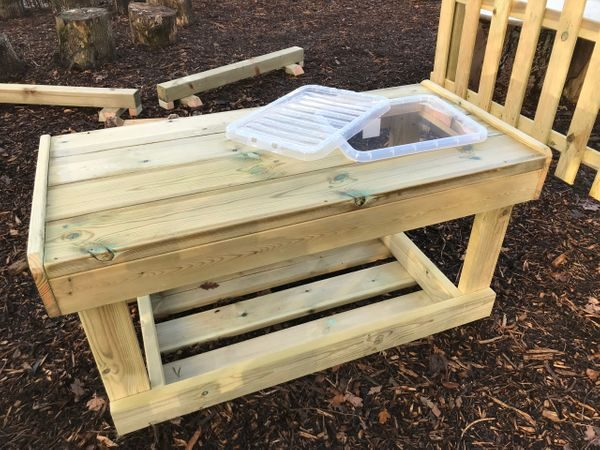 Wooden Explorers Table