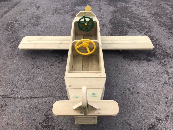 Two Person Wooden Aeroplane