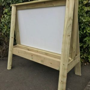 Outdoor Wooden Whiteboard