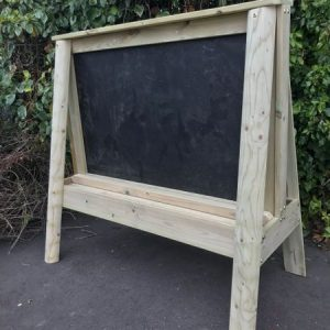 Outdoor Wooden Blackboard