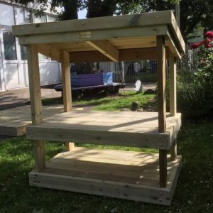 Wooden Role Play Market Stall