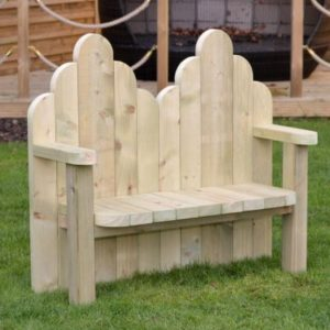 Wooden Story Bench