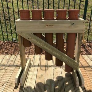 Outdoor Wooden Pipe Drums