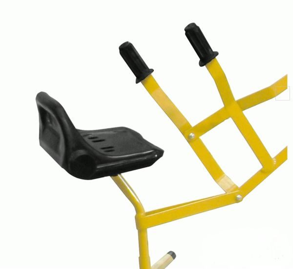 Black Seat With Handles