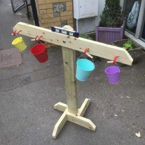 Wooden Balance Scales For Children