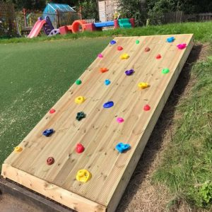 Scramble Wooden Slope