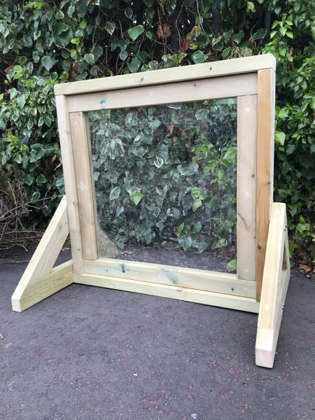 Square Freestanding Clear Mark Making Window