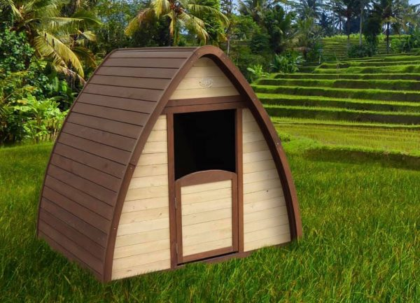 Children's Wooden Hobbit Pod