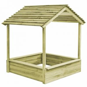Wooden Sandpit Shelter