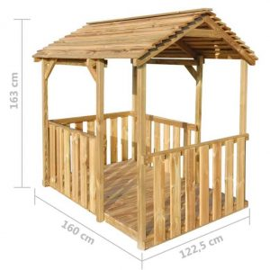 Wooden Pavilion Playhouse