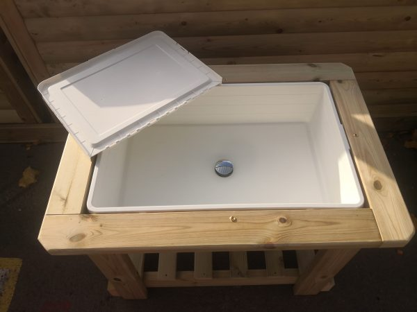 Outside Wooden Water Table