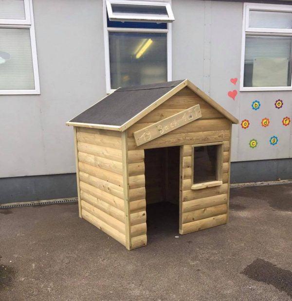 Outdoor Small Wooden Playhouse