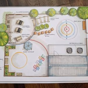 Design Layout For A Playground