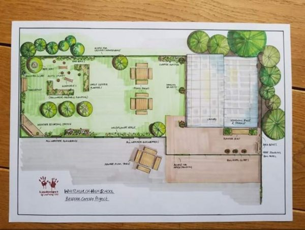 Drawing Design For Outdoor Space