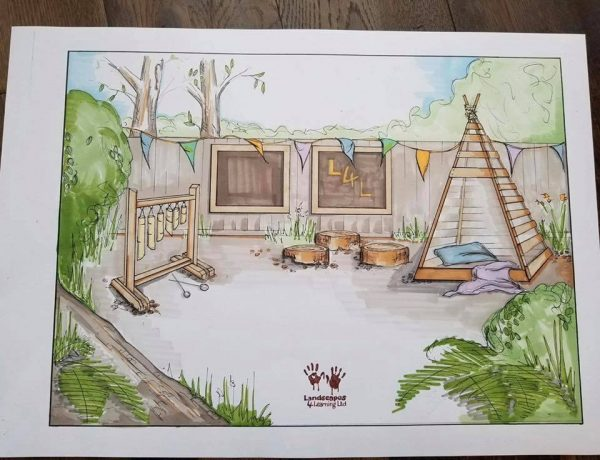 Sketch Design For Kids Play Area
