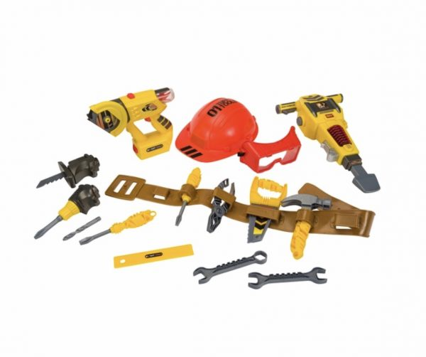 Kid Play Tools With Belt
