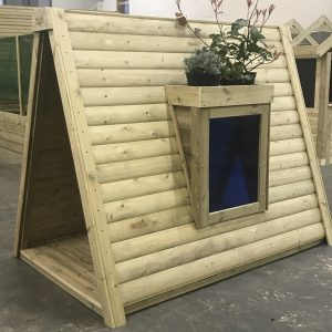 Wooden Sensory Teepee With Window