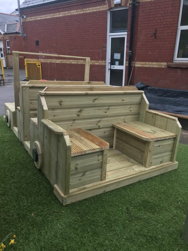 Outdoor Car Seating Area For Children