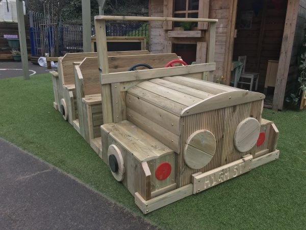 Wooden Car Seating For Kids