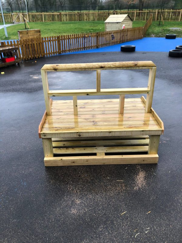 Outdoor Wooden Seating For Kids