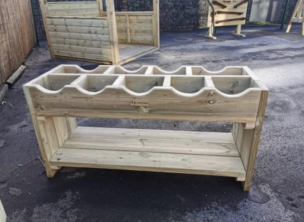 Outdoor Wooden Storage