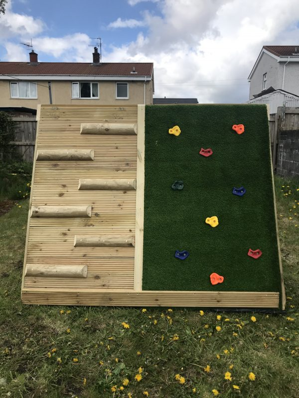 Outdoor Climbing Frame For Children