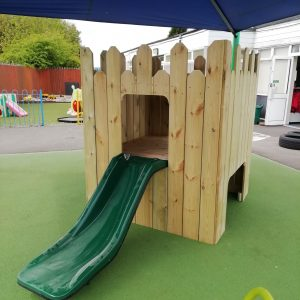 Playhouse For Kids With Slide