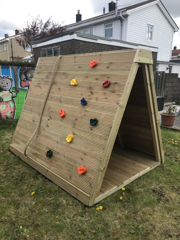Wooden Climbing Wall For Kids