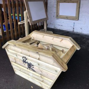 Picture Of Wooden Skip