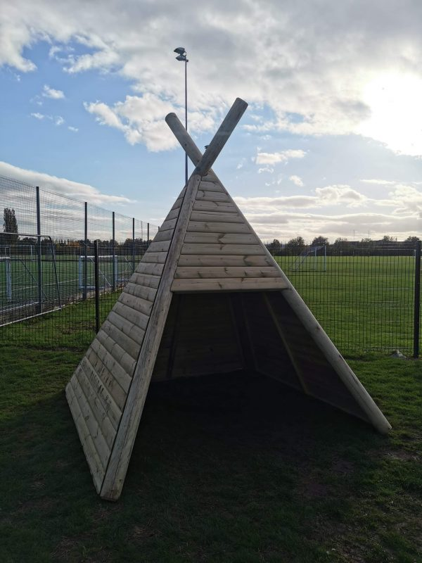Wooden Teepee For Children