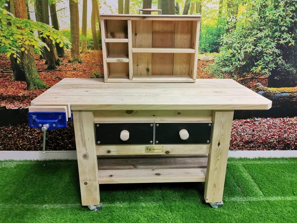 Wooden Work Bench For Kids